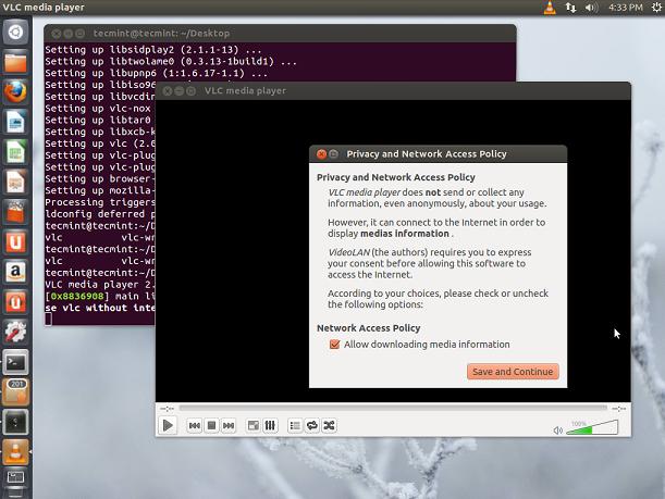 Install VLC in Ubuntu
