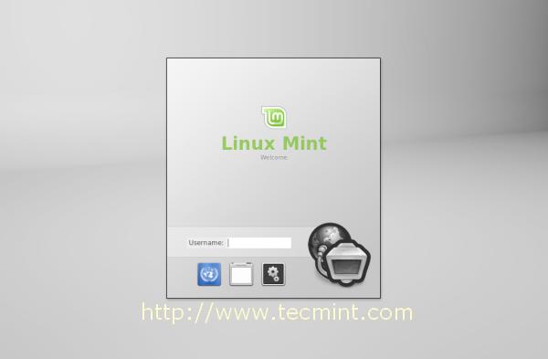 Linux Mint 14 Desktop