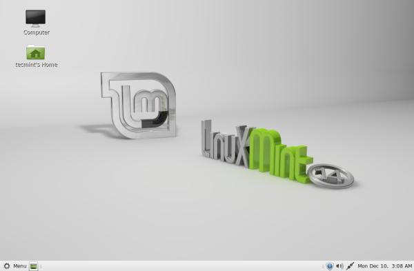 linux mint default password