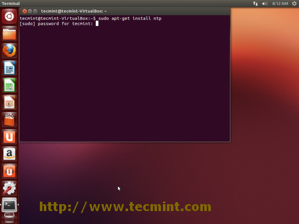 Install NTP Server in Ubuntu