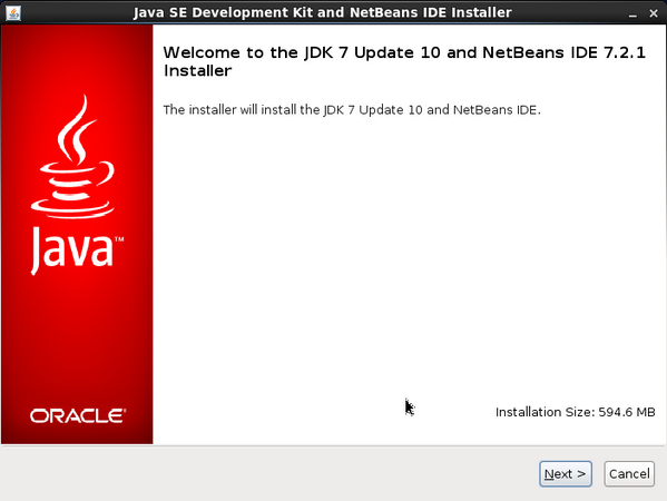 Run NetBeans Installer