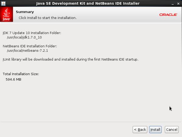 Installing NetBeans IDE