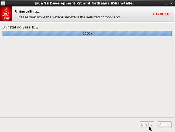 Uninstalling NetBeans IDE