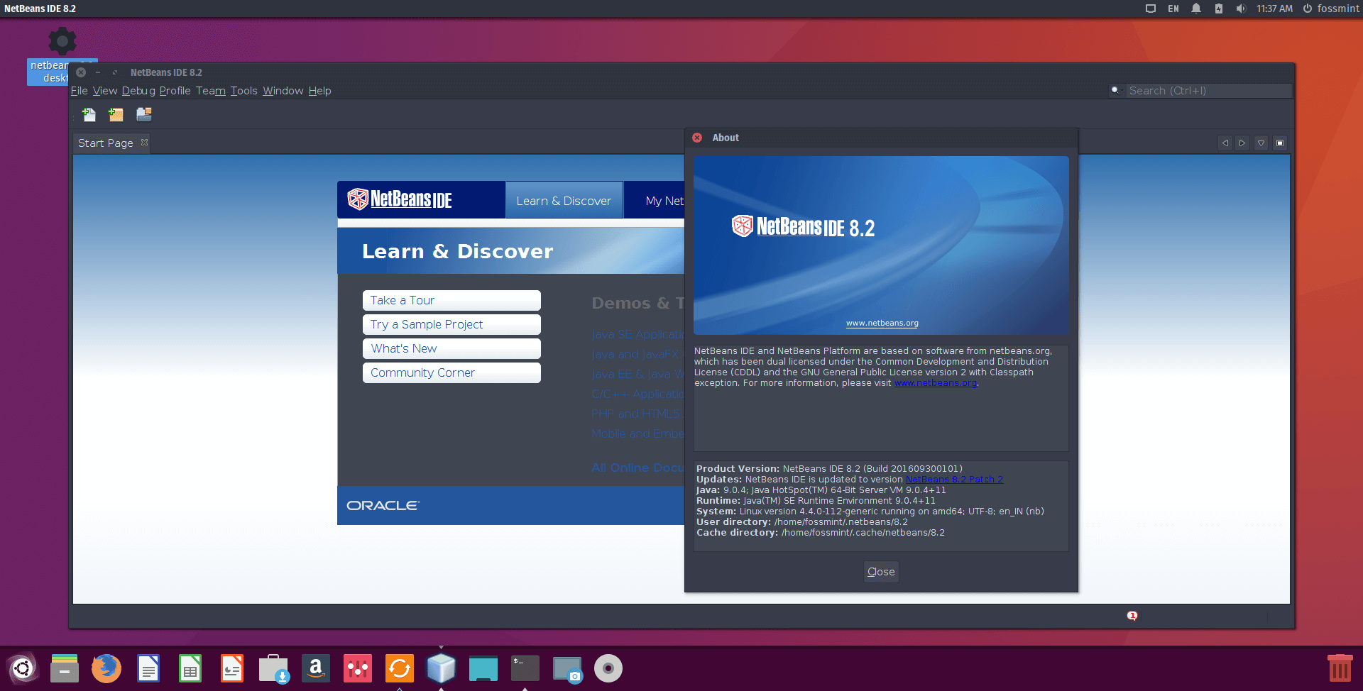 How To Install NetBeans IDE 8.2 In Debian, Ubuntu And Linux Mint