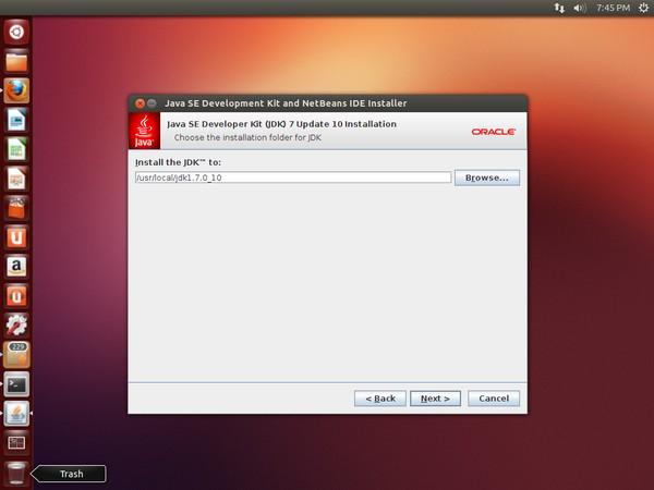 NetBeans JDK Installation
