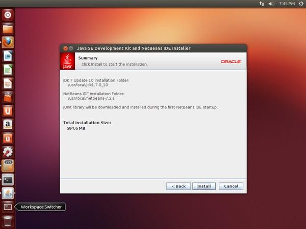 NetBeans Installation in Ubuntu
