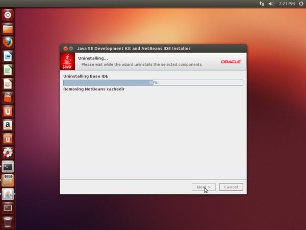 Uninstall NetBeans IDE in Ubuntu