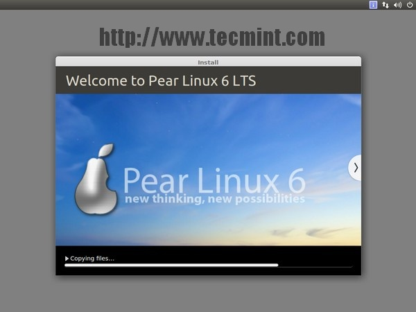 Pear Linux 6 Installation