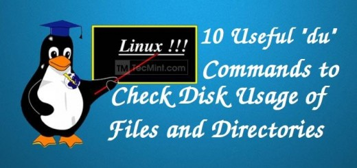 Find Disk Usage of Files in Linux