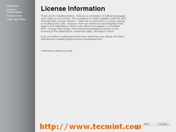 Fedora 18 License Information