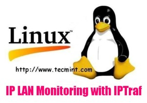Install IPTraf Network Monitoring