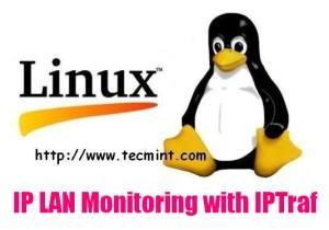 Install IPTraf Network Monitoring