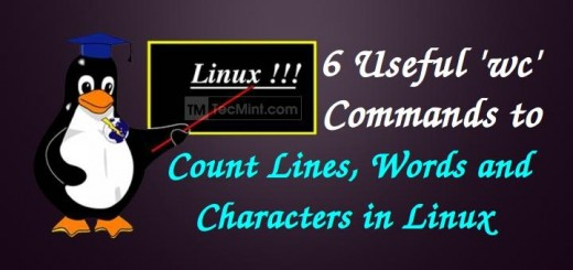 Check Word Count in Linux