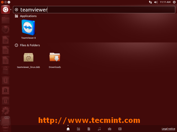 Running TeamViewer in Ubuntu  13.10