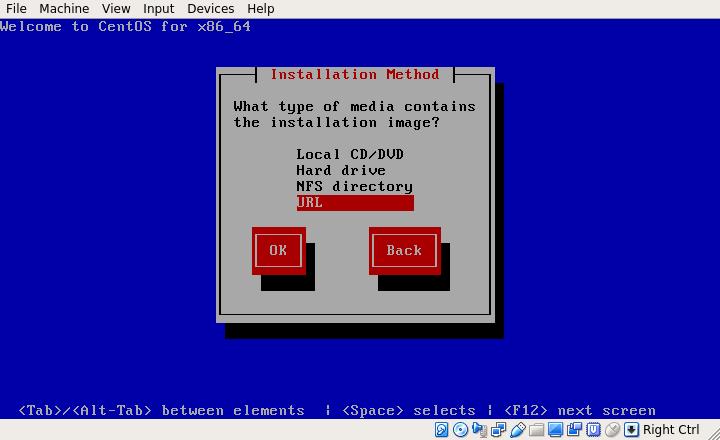 CentOS 6.10 Installation Type
