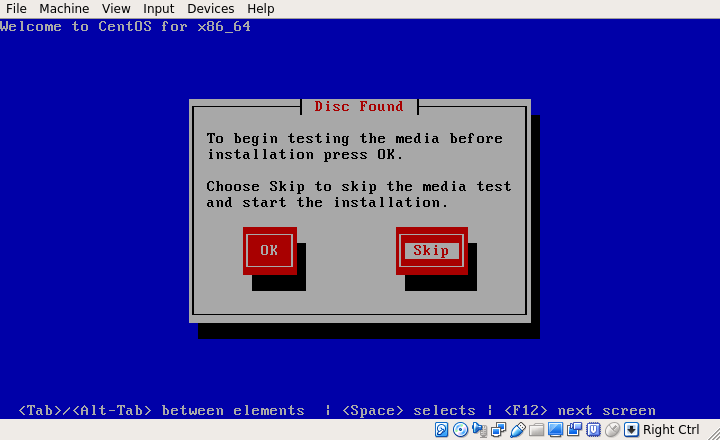 CentOS 6.10 Media Testing