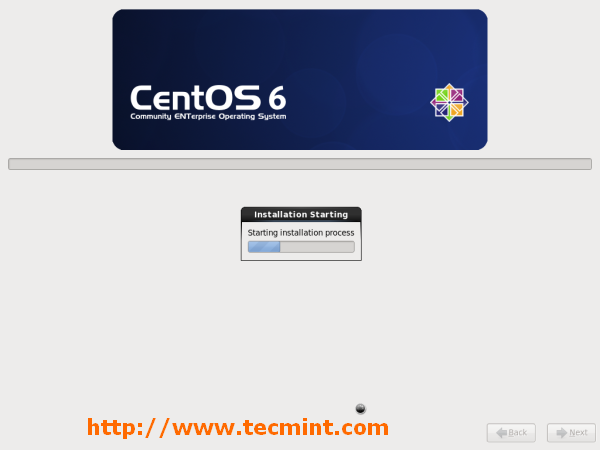 CentOS Installation Process