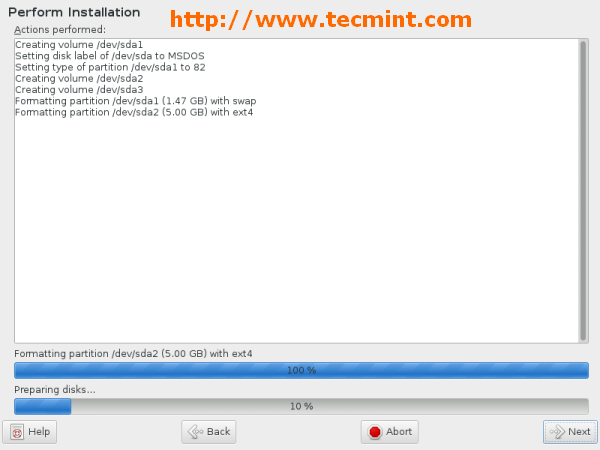 Performing OpenSuse Installation