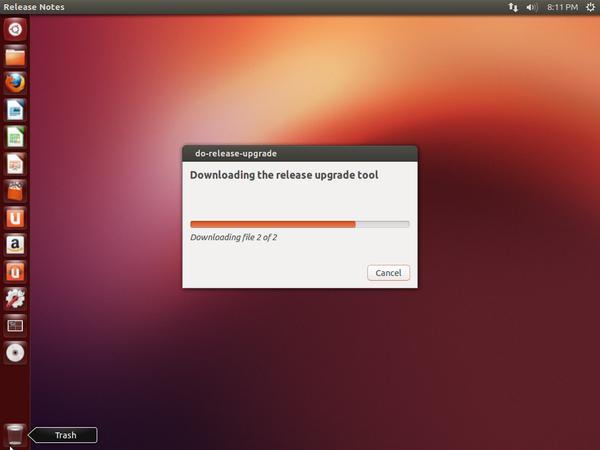 Downloading Upgrade Tool