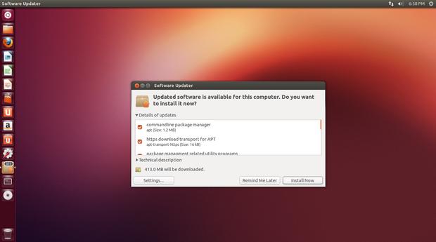 Ubuntu Update Install