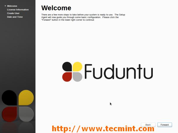 Fuduntu Post Installation