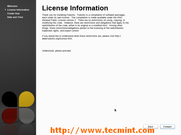 Fuduntu License Agreement