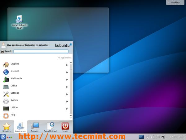 Download Kubuntu 13.04