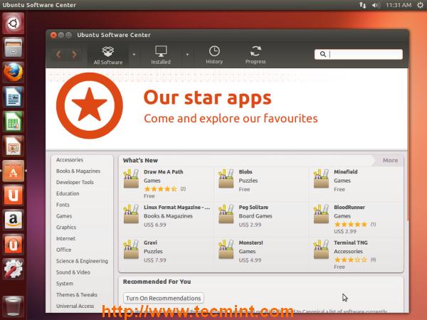 Ubuntu 13.04 Desktop