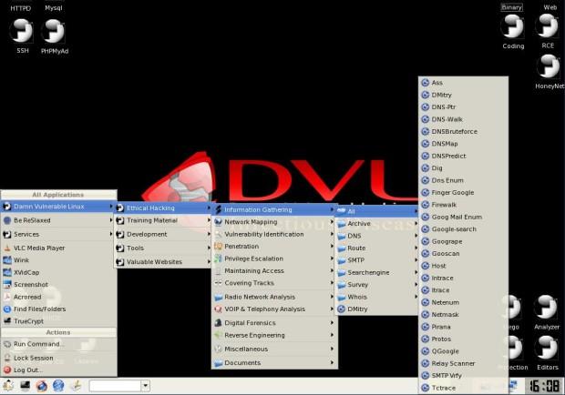 Download Damn Vulnerable Linux