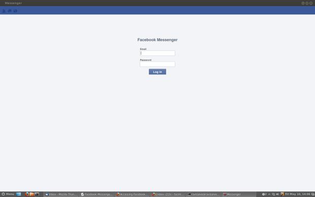 Install Facebook Messenger in Linux