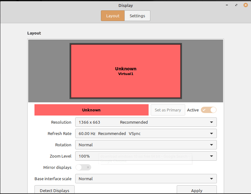 Linux Mint Desktop Frequency Adjustment