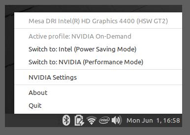 Linux Mint NVIDIA Optimus