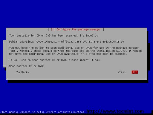 Debian 7.0 Installation Verification
