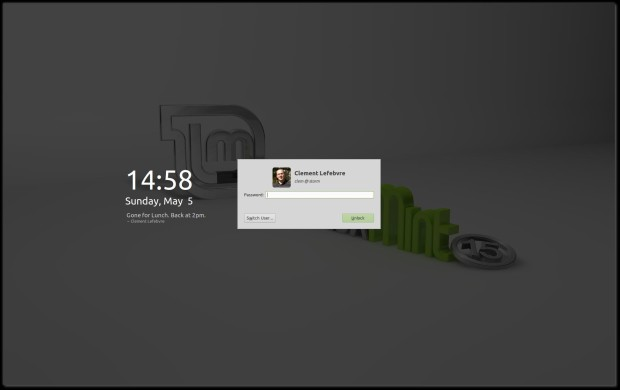 Linux Mint Screensaver