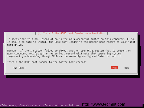 Ubuntu 13.04 Boot loader installation