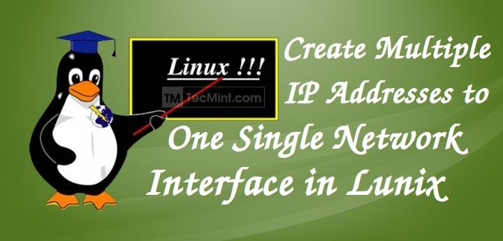 Add Multiple IP Addresses to NIC