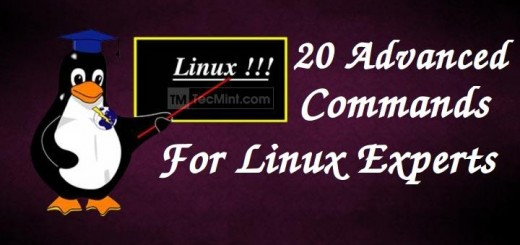 Advance Commands for Linux Experts