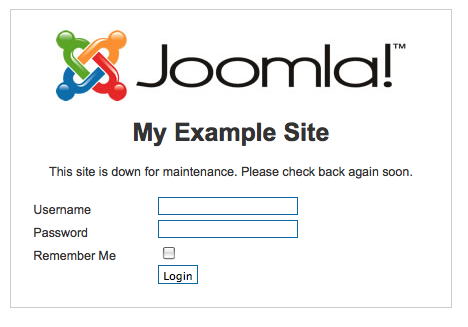 Installation of Joomla CMS