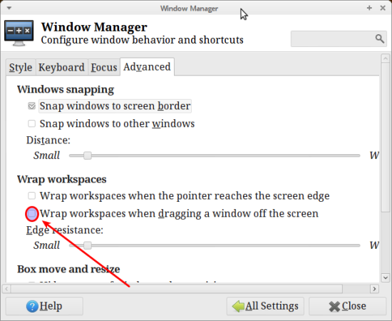 Xfce Window Manager
