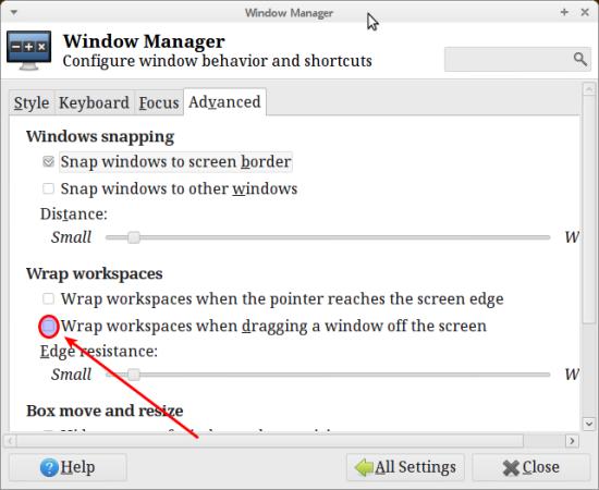 Xfce Window Manager