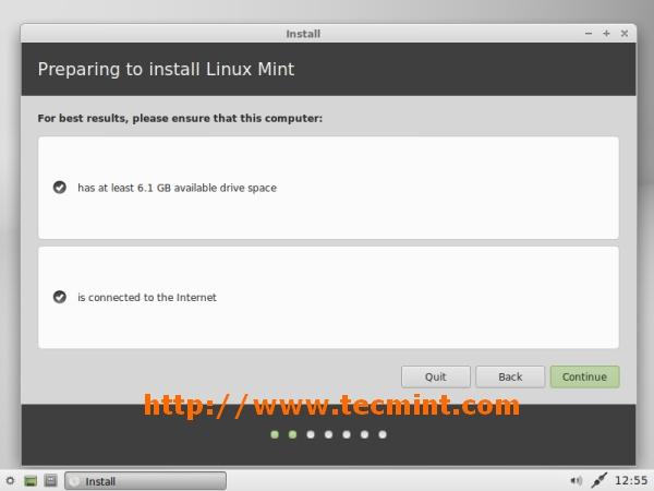 Preparando la instalación de Xfce