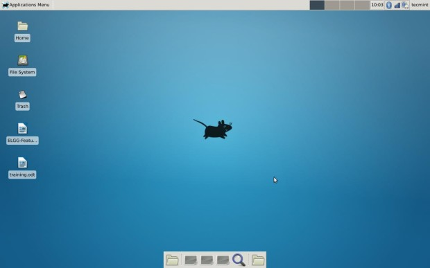 Xfce 4.10 Desktop