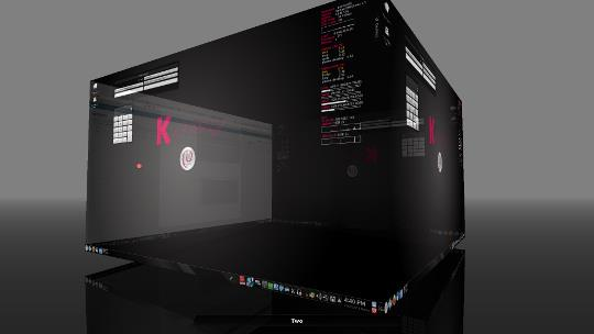 KDE 3D Workspace