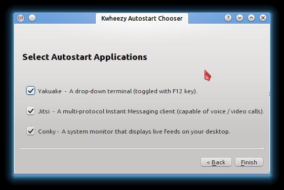 Kwheezy Autostart Chooser