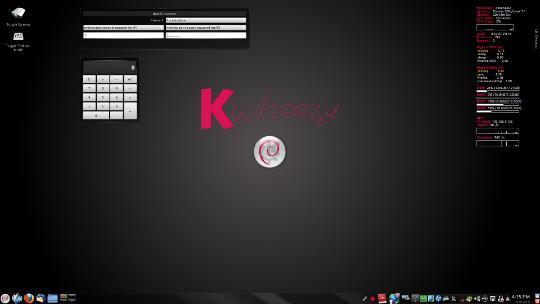 Kwheezy KDE Desktop