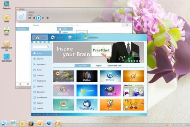 `Linux Deepin Desktop