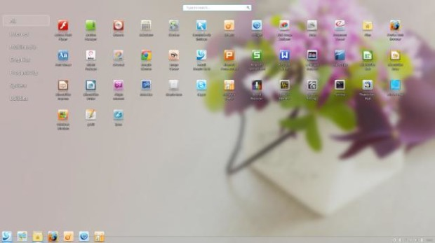 Linux Deepin Application Launcher