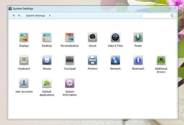 Linux Deepin System Settings