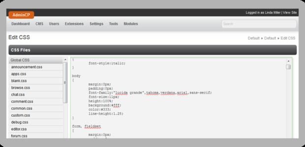PHPFox Theme Management