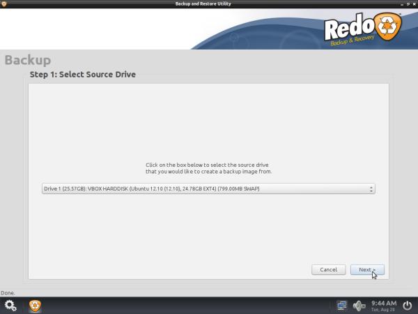 Linux Partition Backup